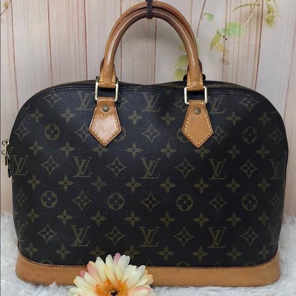 4f9715779cff Louis Vuitton Handbags - Authentic Louis Vuitton Monogram Alma Satchel Bag